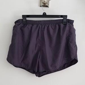 Nike steel blue running shorts size XL